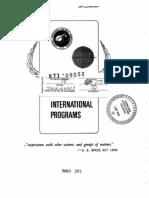 International Programs Fact sheet