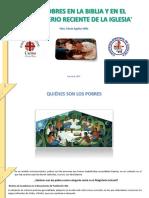 LOS POBRES EN LA BIBLIA Y EN EL  MAGISTERIO DE LA IGLESIA COSTA  RICA