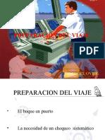 PREPARACION DEL VIAJE