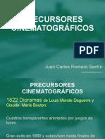 03 TEORÍA PRECURSORES CINEMATOGRÁFICOS