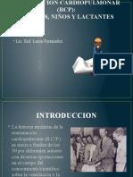 REANIMACION CARDIOPULMONAR (RCP)