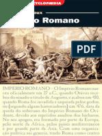 (Série Encyclopaedia) Patrick le Roux-Império Romano-L&PM (2009)