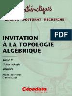 Invitation à la topologie algébrique tome 2 Cohomologie ( PDFDrive ).pdf