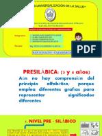 ANA TABEROSKY Y LOS NIVELES DE CONSTRUCCIÓN DE LA ESCRITURA