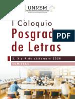 Sumillas Coloquio Posgrado Letras