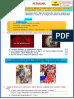Actividad Televisiva de Arte y Cultura - 25 Noviembre