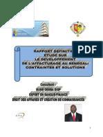 Etude sur le développement de l'affacturage au Sénégal
