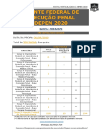 DEPEN - EDITAL VERTICALIZADO 2020