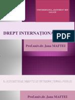 3. SUBIECTELE DREPTULUI INTERNATIONAL PUBLIC