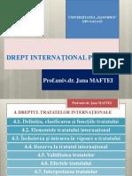 4. DREPTUL TRATATELOR INTERNATIONALE