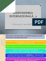 5. RASPUNDEREA INTERNATIONALA 2