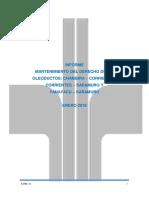 Informe Mantenimiento de Derecho de Vía Corrientes-Saramuro