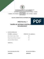 Diseño de Sistemas Controladores Secuenciales 2