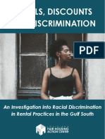 LaFHAC Denials, Discounts and Discrimination in the Gulf South
