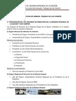 3 ACCIONES DE LA LUCHA NO ARMADA. TAREA DE LOS COMITÉS