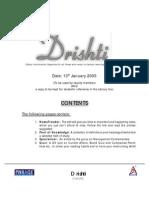 New Drishti # 201 --- 13th January 2005
