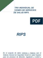 Presentación RIPS SAN CARLOS