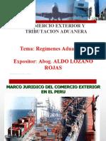OPERATIVIDAD ADUANERA Y   REGIMENES.ppt