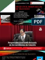 RESPONSABILIDAD CIVIL derivada de ACCIDENTES de TRáNSITO 1