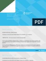 Presentación ministra Gómez Alcorta | IVE 2020