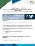 Guía Para El Desarrollo Del Componente Práctico - Unidades 1, 2 y 3 - Tarea 3 - Realizar El Componente Práctico in Situ