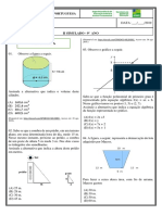 II SIMULADO de Estudante Matemática e Portugues  - 9º ano ( J )