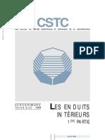 CSTC Les enduits intérieures NIT 199