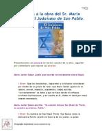 Crítica a la obra de Mario Saban sobre Pablo de Tarso