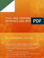 CIVIL and Criminal