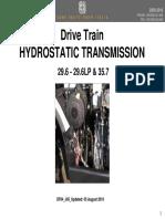 DF04 J05 Drive Train HYDROSTATIC Agrovector 29.6 29.6Lp 35.7