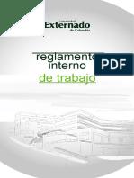 reglamento interno de trabajo UNIVERSIDAD EXTERNADO DE COLOMBIA