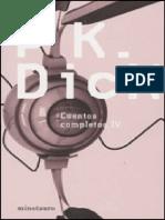 Cuentos completos (vol. 4) [138 - Philip K. Dick