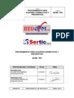 ACCIONES CORRECTIVAS Y PREVENTIVAS V6 2011