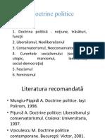 Doctrine politice