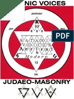 Satanic Voices of Judaeo-Masonry British-Israel