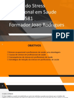 UFCD 6581 Gestao Stress profissional na saude