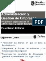 Administracin y Gestin de Empresas Sesion 1