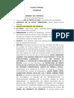 CLINICA ESCRITA DE AUDIENCIA LABORAL 1 (1)