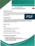 Carta Maestra Qué Vender, Adapta Tu Producto_2017