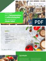 eBook - Clean Label - Soluciones Para Lanzamientos y Reformulaciones en Productos