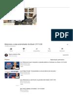 Bolsonaro, o anjo exterminador do Brasil. 27_11_20 - YouTube