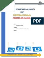 EL PODER DE LOS VALORES- Palacios Alvarado Marco