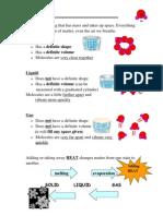 5Matter study guide