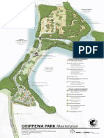 Chippewa Park Master Plan Map