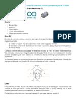 Aplicaciones de control de velocidad, posicion y sentido motores, Oscar Ulises López Camarillo