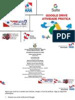 Atividade Prática Google Drive