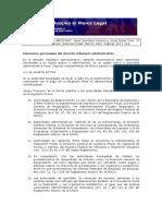 ELEMENTOS PERSONALES DEL DERECHO TRIBUTARIO ADMINISTRATIVO
