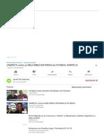 VAMPETA conta as MELHORES HISTÓRIAS do FUTEBOL! (PARTE 2) - YouTube