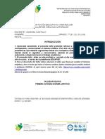 TALLER DE SÉPTIMO SISTEMA LINFATICO 1