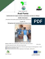 L18 - Entreprises de transformation du fonio et innovations au Mali
